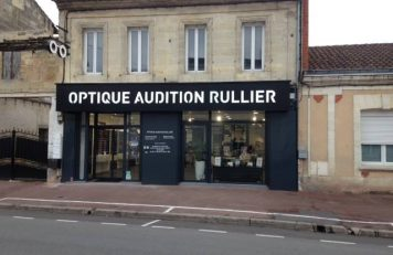 Equipe Audioprothésiste Maitre Audio vitrine Audition Rullier Coutras
